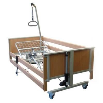 Pat spital electric cu saltea cu husa impermeabila inclusa