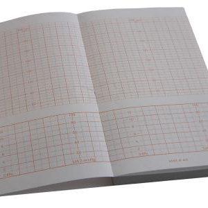 Hartie EKG Corometrics GE Healtcare 116 150 4305AAO CAO 152mmX90mmX150coli