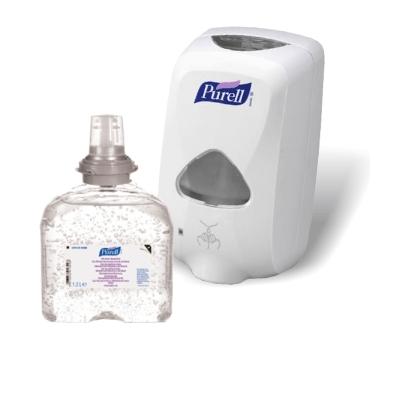 Pachet gel dezinfectant de maini Purell 1200ml