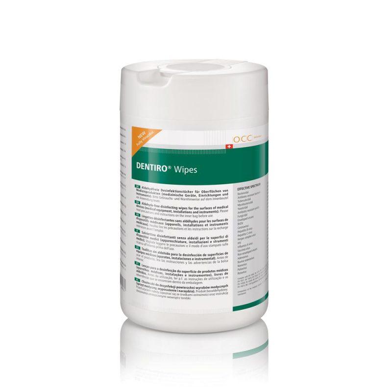DENTIRO Wipes - servetele aldehide si biodegradabile