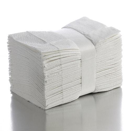 Prosoape albe tip V 23x23, 2 straturi, 3200 foi/bax