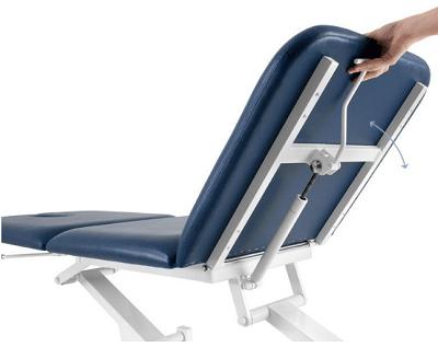Canapea examinare hidraulica 3 sectiuni reglabila cap/picioare
