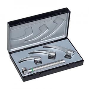 Set laringoscop cu lame standard Mc INTOSH 0, 1, 2 si maner Set laringoscop cu lame ri modul Mc INTOSH