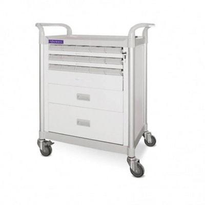 troliu/ carucior medical cu 2 sertare