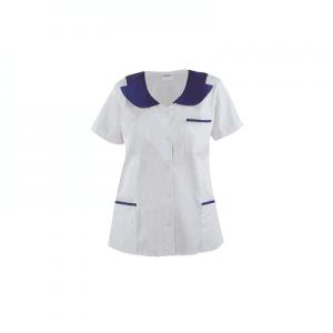 Bluza medicala cu maneca scurta