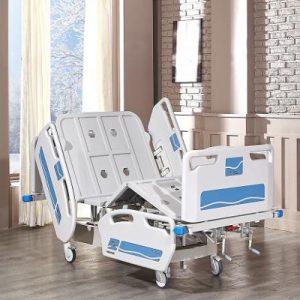 Pat spital electric cu 2 motoare