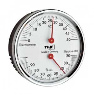 termometru higrometru analog