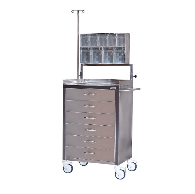 troliu medical inox bloc operatoe