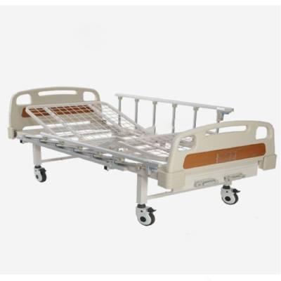 Pat spital manual cu doua sectiuni