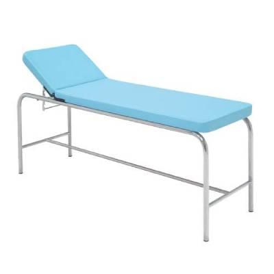 Canapea fixa de examinare, otel inoxidabil
