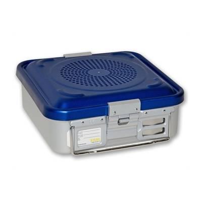 container sterilizare 2 filtre, model mic, baza perforata