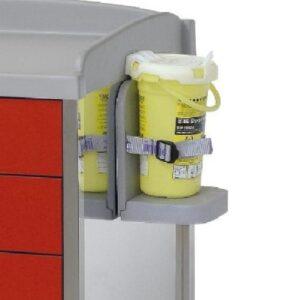 Cutie deseuri intepatoare pentru Troliu medical inox, Inmoclinc