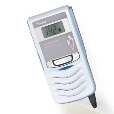 Doppler fetal cu ecran color LCD