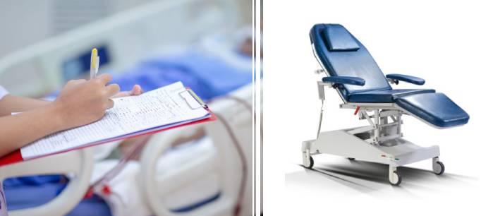 scaun pentru dializa