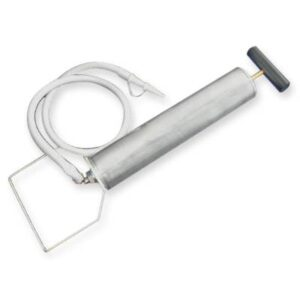 Pompa din aluminiu pentru saltea vacuum